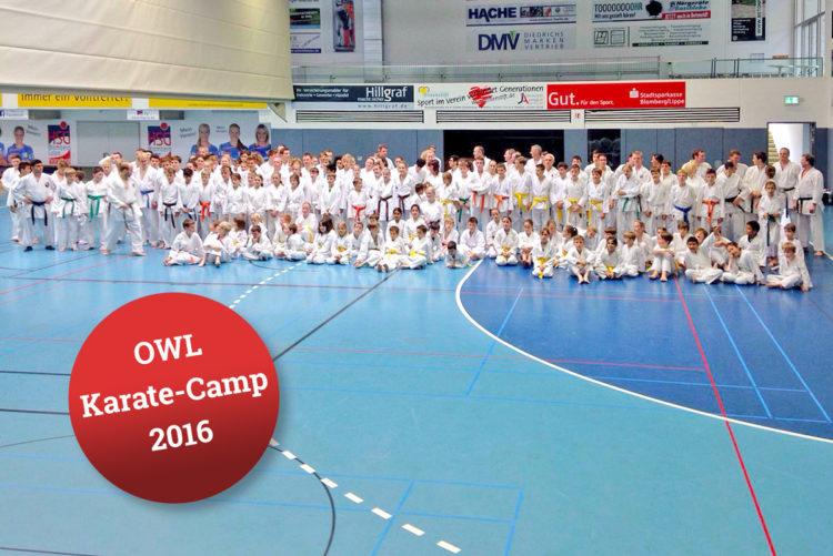Karate Camp in Blomberg 2016
